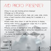 MD Photo Presenter-5 Transition Effects (Mod&Copy)
