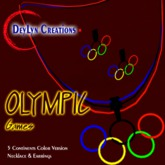 Olympic Games Necklace and Earrings