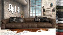 Apt B // Strandmon Couch BROWN -PG-