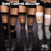 [Sassy Kitty Designs] Sassy Tattered Stockings