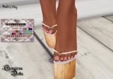 !~GD~Mokki's Way(PEDI) - Maitreya Mesh Feet