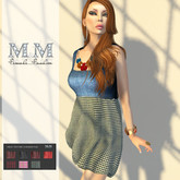 M&M- MAY DRESS MESH JEANS