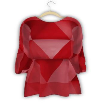 Sun*Love - Eyk Tunic Dress Red *GIFT*