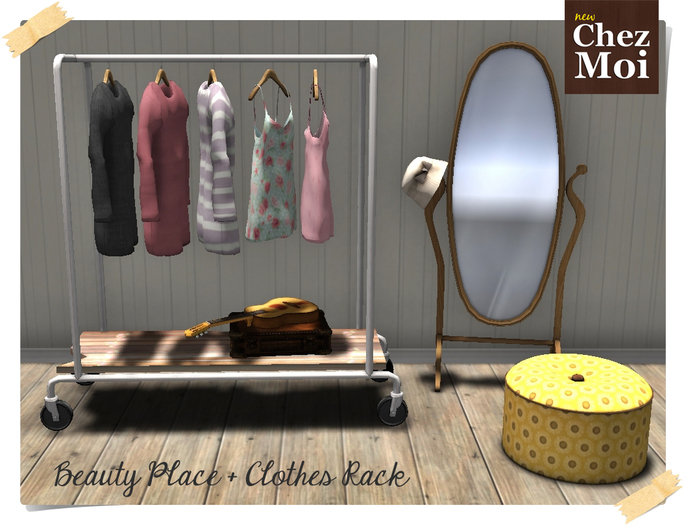 Beauty Place + Clothes Rack Butterfly ♥ CHEZ MOI
