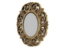 -ADI- Mesh Oval Decorative Frame - Full Perm
