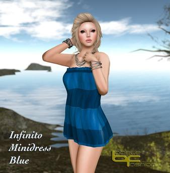 Babele Fashion :: Infinito Minidress Blue
