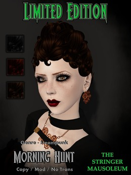 *TSM* Morning Hunt - Genre - Steampunk - Sept 2013 - LE Pack - 8 of 15