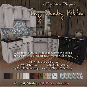 [DDD] Cozy Country Kitchen - Tex Change Low Land Impact