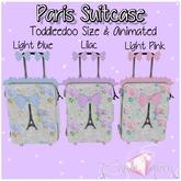 Candii Kitten-Paris Suitcase Pale Pink