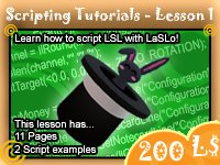 LSL Tutorial Lesson1 - Introduction to LSL elements
