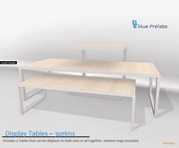 Mue ~ Steel Display tables