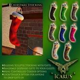 =IcaruS= Stuffed Christmas Stocking