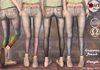 :LoLla's: Closet Unicorn Jeans {Grays}