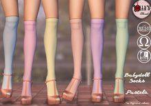 :LoLla's: Closet Babydoll Socks {Pastels}