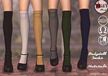 :LoLla's: Closet Babydoll Socks {Naturals}
