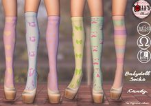 :LoLla's: Closet Babydoll Socks {Candy}
