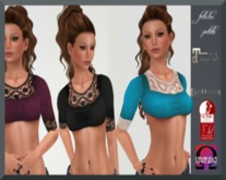 .:f etiche petite:. 3 Mini Tops(Appliers incl)