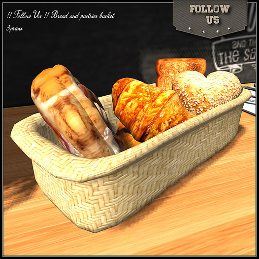 New version !! Follow US !! Breadbasket and pastries