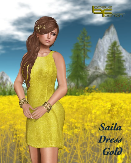Babele Fashion :: Saila Dress Gold