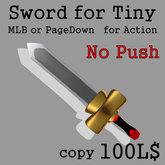 tiny sword