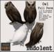 [INDO] Perched Owl Full Perm - 1LI