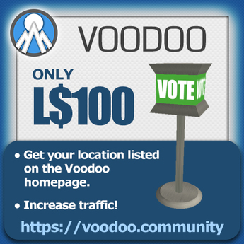 Voodoo VoteBox - Popular places voting system