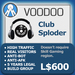 XPLODER : Voodoo Sploder (Club Edition) - Advanced traffic building xploder