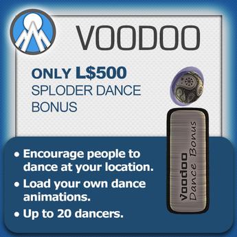 Voodoo Dance Machine Sploder Add-On