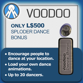 Voodoo Dance Machine Sploder Add-On