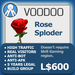 XPLODER : Voodoo Sploder (Rose Edition) - Advanced traffic building xploder