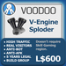 XPLODER : Voodoo Sploder (V-Engine Edition) - Advanced traffic building xploder