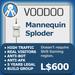 XPLODER : Voodoo Sploder (Mannequin Edition) - Advanced traffic building xploder