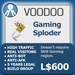 XPLODER : Voodoo Sploder (Gaming Edition) - Advanced traffic building xploder