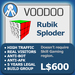 XPLODER : Voodoo Sploder (Rubik Edition) - Advanced traffic building xploder
