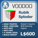 XPLODER : Voodoo Sploder (Rubik Edition) - Advanced traffic building xploder
