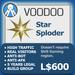 Voodoo vendor star
