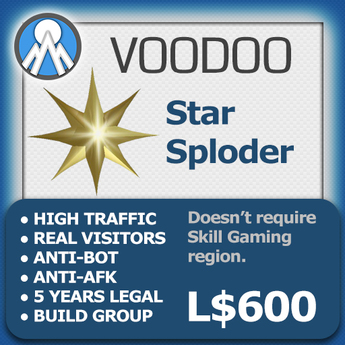 XPLODER : Voodoo Sploder (Star Edition) - Advanced traffic building xploder