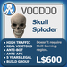 XPLODER : Voodoo Sploder (Skull Edition) - Advanced traffic building xploder