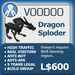 XPLODER : Voodoo Sploder (Dragon Edition) - Advanced traffic building xploder