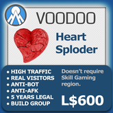 XPLODER : Voodoo Sploder (BrokenHeart Edition) - Advanced traffic building xploder