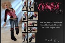 [Etchaflesh] Attitude Pose Set - Static Photography Poses **GIFT**