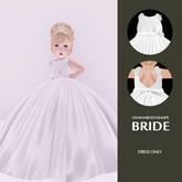 [OH] little bride - white - for ToddleeDoo (ONLY FOR BABY)