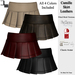 De designs camille skirt leathers s