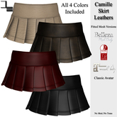 DE Designs - Camille Skirt - Leathers