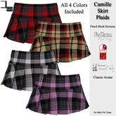 DE Designs - Camille Skirt - Plaids