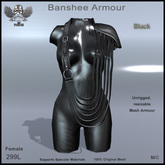 [The Forge] Banshee Armour (Black) Female.