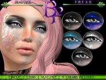 Beautiful Freak: Circuit eye makeup - bbgrw