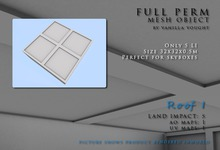 MESH Roof 5LI 32x32x0.5 (full perm)