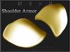 T-3D Creations [ Shoulder Armor 004 R / L ]  Regular MESH - Full Perm -