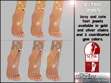 ! *IC* Slink High Foot Jewels  Reds